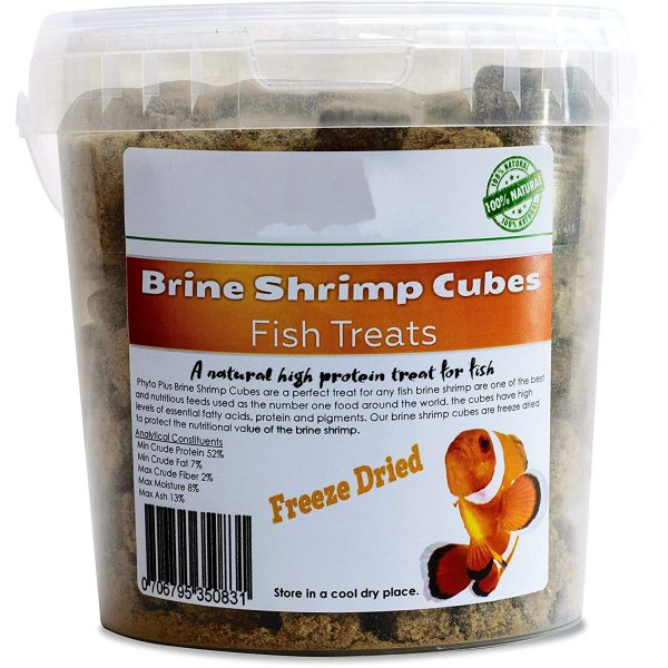 Freeze Dried Brine Shrimp Cubes Everything Aquatic