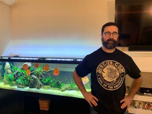 Official Discus.com Black T-Shirt photo review